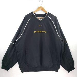 Vintage Nike Team Mizzou Tigers Swoosh Windbreaker